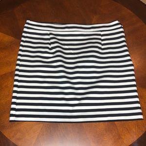 Tommy Hilfiger Striped Bodycon Mini Skirt Size 10
